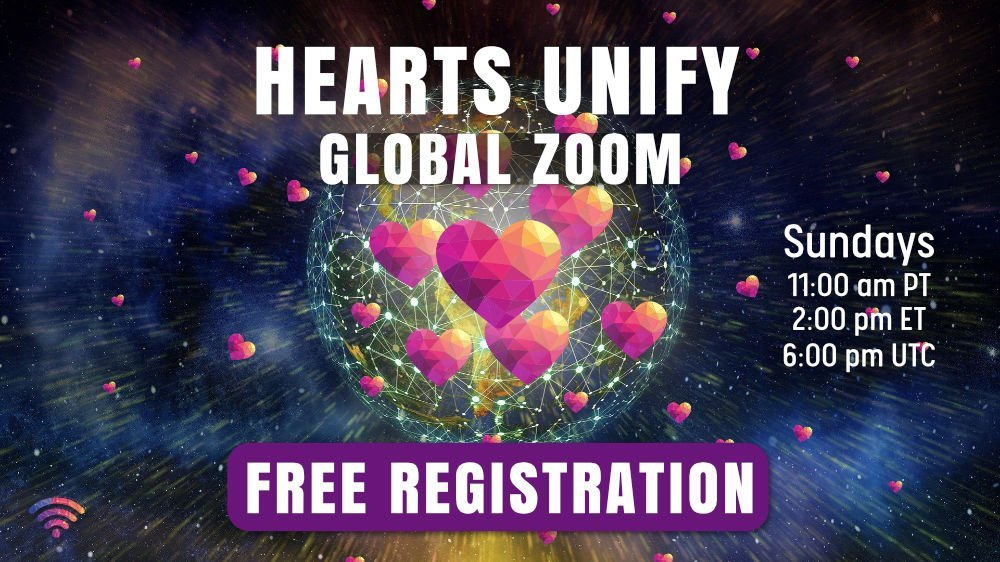 Hearts Unify Zoom call | Coherence Hotspot